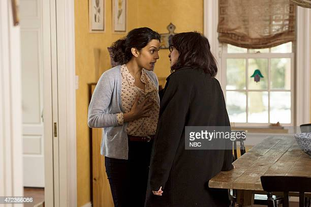 THE BLACKLIST The Deer Hunter Episode 213 Pictured Sepideh Moafi as Mary Henning Amanda Plummer as Tracy Solobotkin