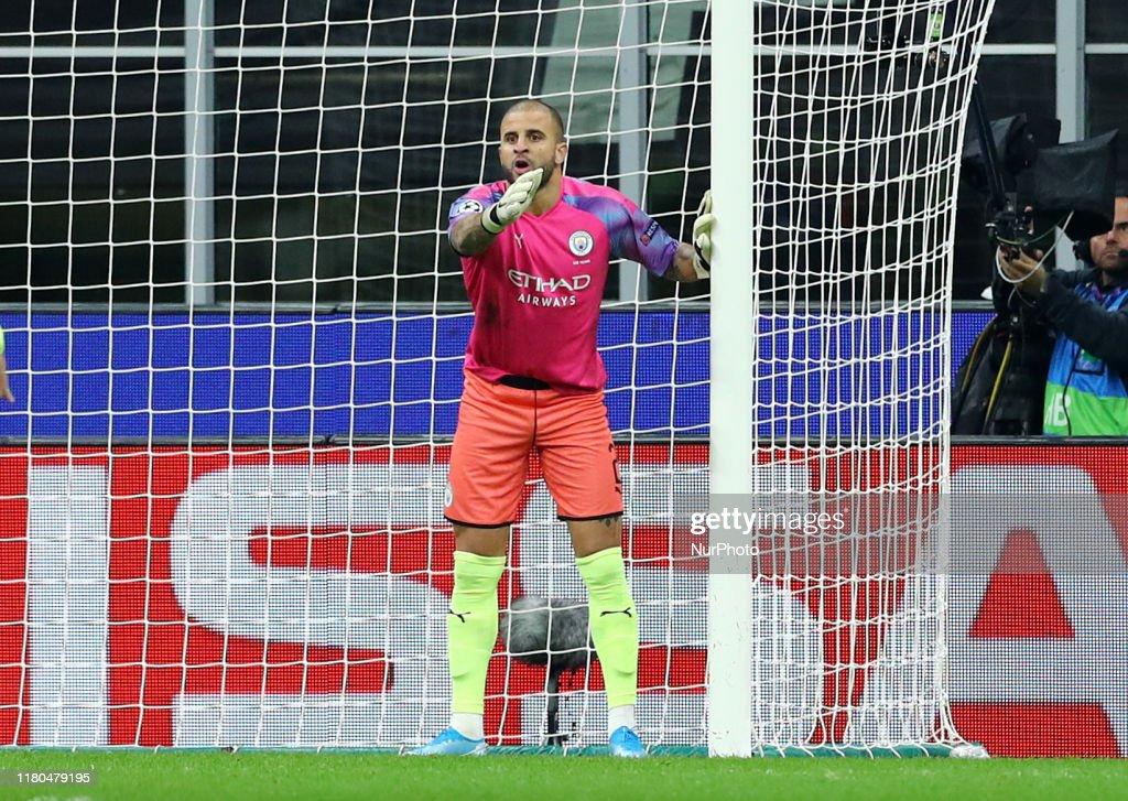Atalanta BC v Manchester City Fc  - UEFA Champions League Group C : ニュース写真