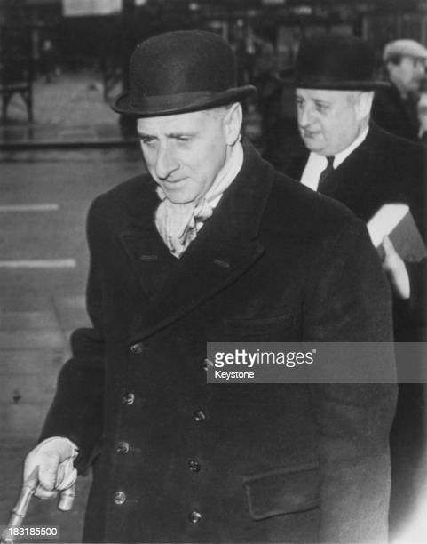 The defending counsels arriving at at Hyde Magistrate's Court Greater Manchester for the hearing of the murder charges against Ian Brady and Myra...