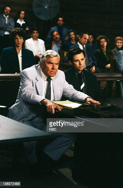 MATLOCK The Defense Episode 9 Pictured Andy Griffith as Benjamin Matlock David Kaufman as Danny Hayes