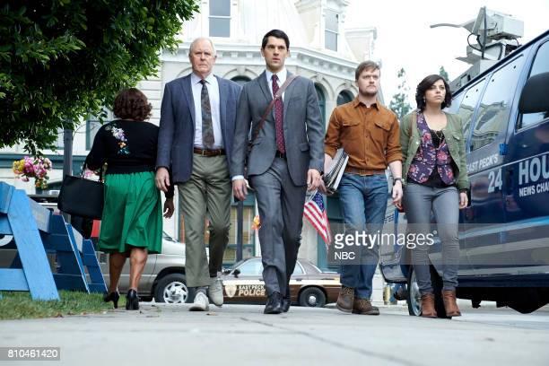 TRIAL ERROR 'The Defense Rests' Episode 112 Pictured Sherri Shepherd as Anne John Lithgow as Larry Nicholas D'Agosto as Josh Steven Boyer as Dwyane...