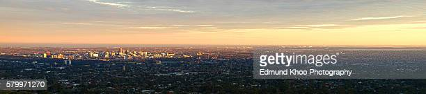 The Definitive Adelaide Panorama from the Adelaide Hills