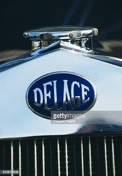 The Delage emblem