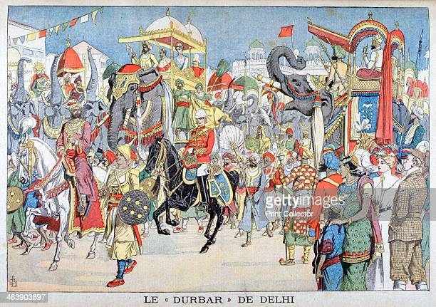 The Delhi Durbar 1903 The Delhi Durbar meaning Court of Delhi was a mass assembly at Delhi India to commemorate the coronation of a King and Queen of...