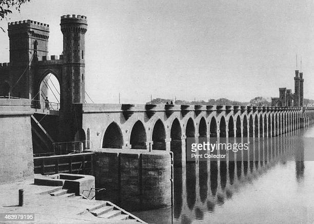 The Delta Barrage Cairo Egypt c1920s Completed in 1862 the Delta Barrage was a dam which was intended to improve irrigation in the Nile Delta area of...