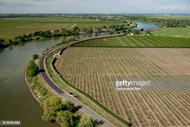 The Delta water tunnels would begin in the Courtland Calif at the nort end of the SacramentoSan Joaquin Dela here in an April 2013 image