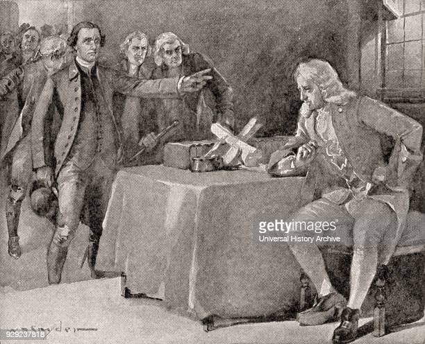 The demand upon Governor Dunmore by Patrick Henry in 1775 Patrick Henry 1736 – 1799 American attorney planter politician orator Governor of Virginia...