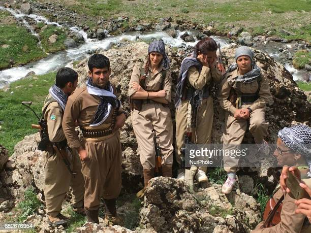 The Democratic Party of Iranian Kurdistan's armed wing known as the Iranian peshmerga located in the border near Iran continue their armed struggle...