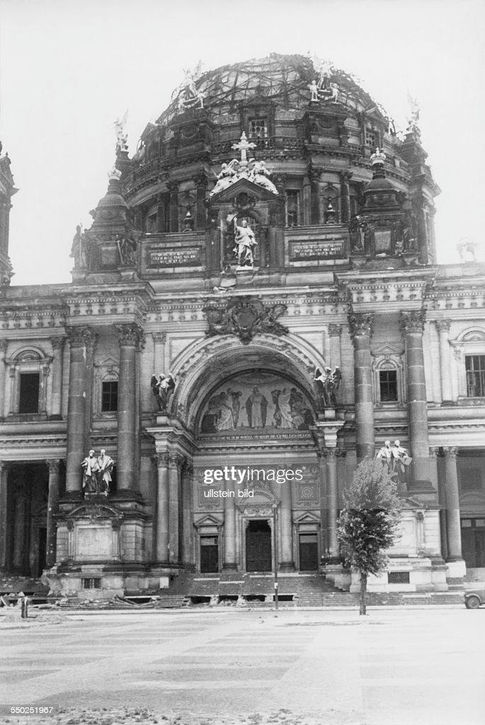 The Demolished Building Of The Berliner Dom Vintage Property Of