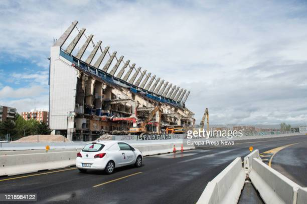 The demolition of the Vicente Calderon Stadium in its resumption after the end of the economic hibernation period established by the central...
