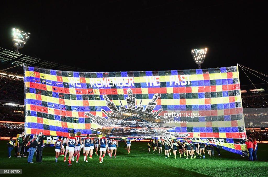 AFL Rd 5 - Richmond v Melbourne : News Photo