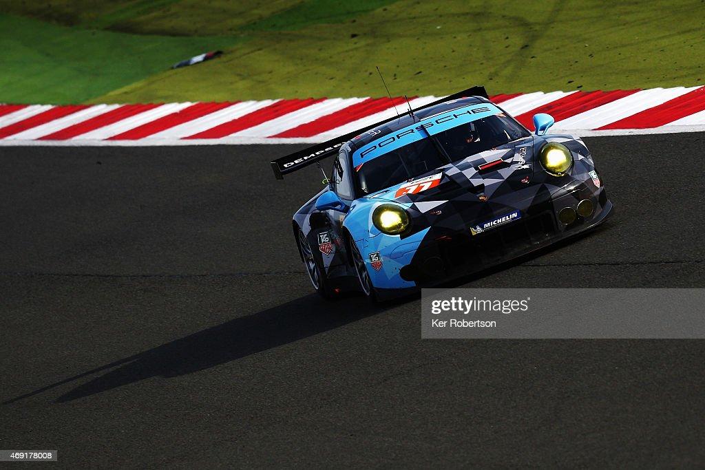 The Dempsey Proton Racing Porsche 911 Rsr Of Patrick Dempsey