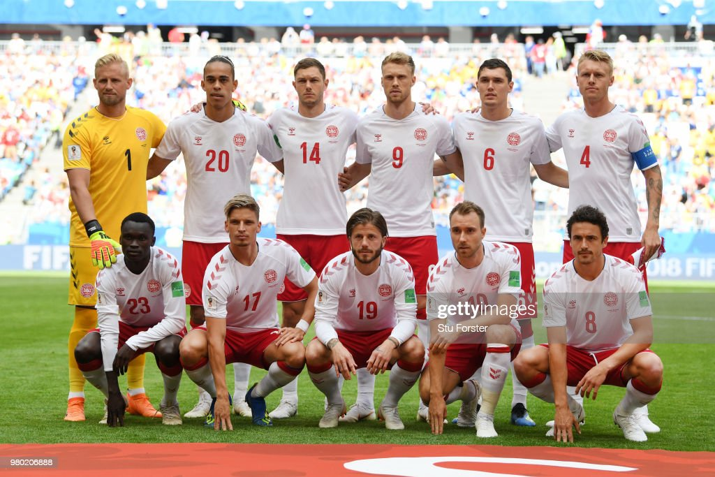 Denmark v Australia: Group C - 2018 FIFA World Cup Russia : Photo d'actualité