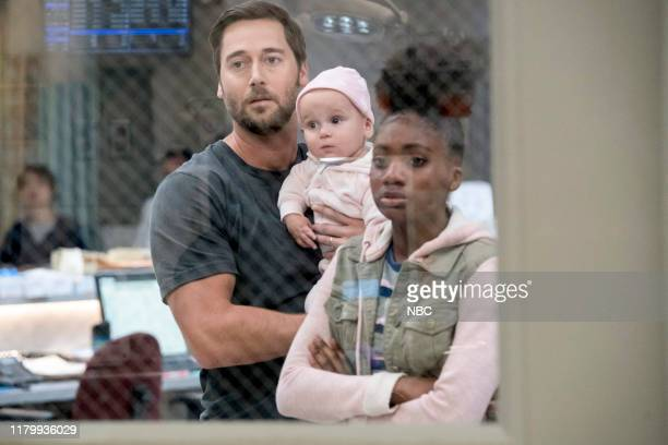 NEW AMSTERDAM The Denominator Episode 204 Pictured Ryan Eggold as Dr Max Goodwin Demi Mills as Harmony Cannon