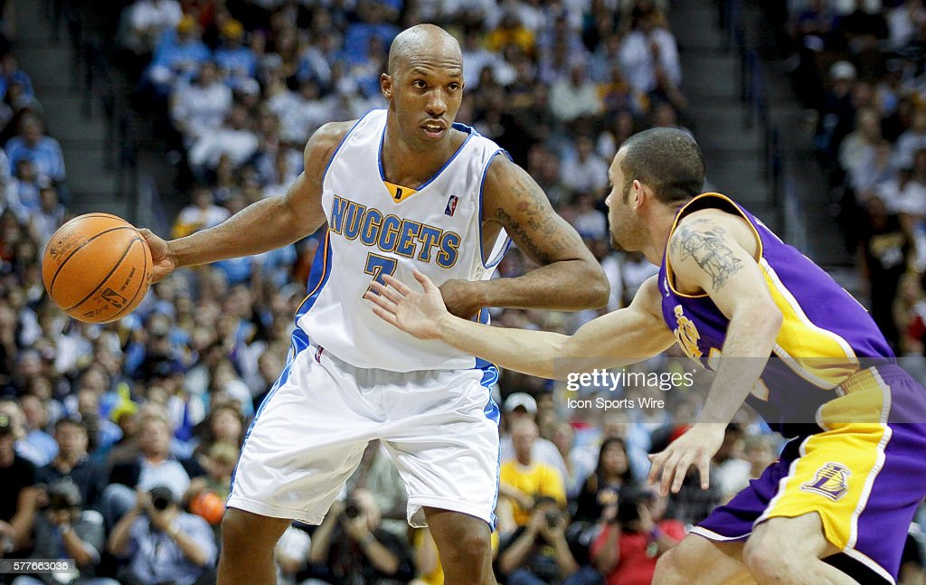 NBA: MAY 25 Western Conference Finals - Lakers at Nuggets - Game 4 : News Photo