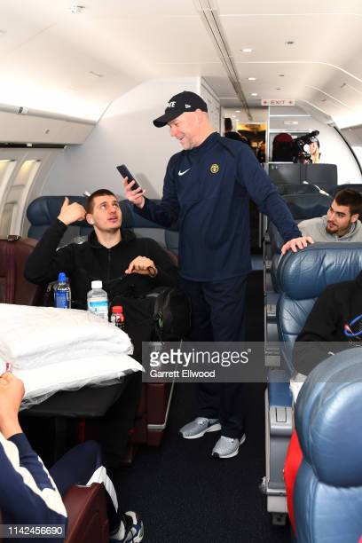 The Denver Nuggets travel to Portland on May 8 2019 at Denver International Airport in Denver Colorado NOTE TO USER User expressly acknowledges and...