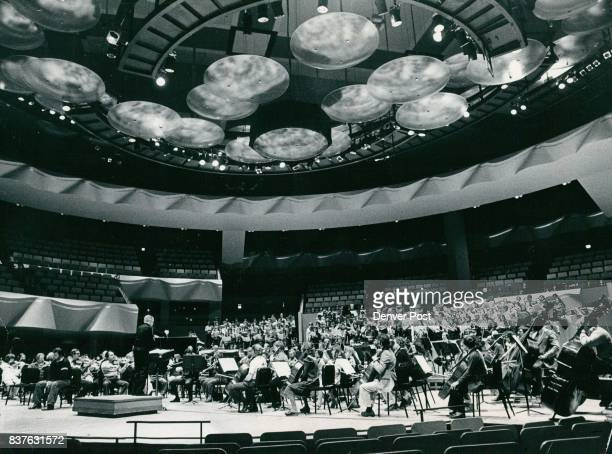 The Denver Symphony Orchestra In Rehearsal Credit Denver Post