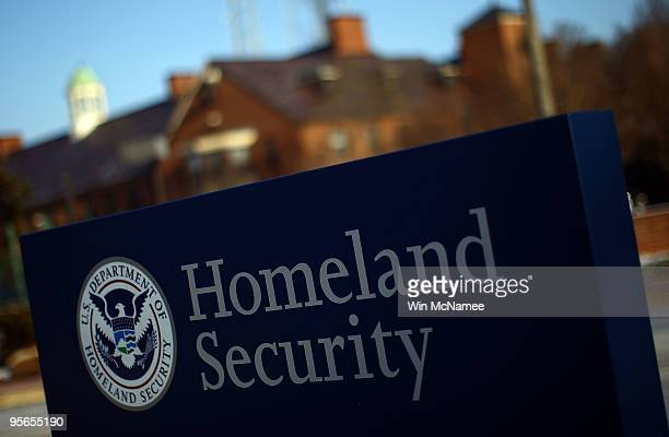 The Department of Homeland Security main complex is shown January 8 2010 in Washington DC US President Barack Obama has ordered DHS to 'aggressively...