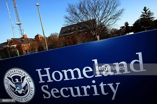 The Department of Homeland Security main office is shown January 8 2010 in Washington DC US President Barack Obama has ordered DHS to aggressively...