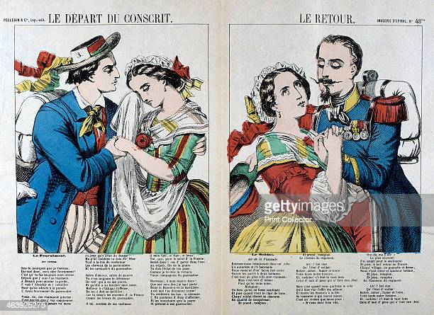 'The Departure and Return of the Conscript' 19th century