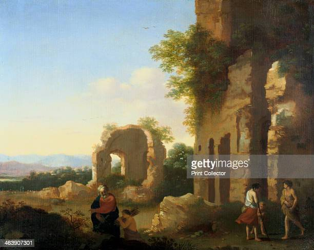 'The Departure of Abraham and Isaac' 17th century From a private collection
