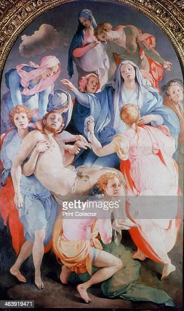 Madonna With Child And Saints Jacopo Pontormo