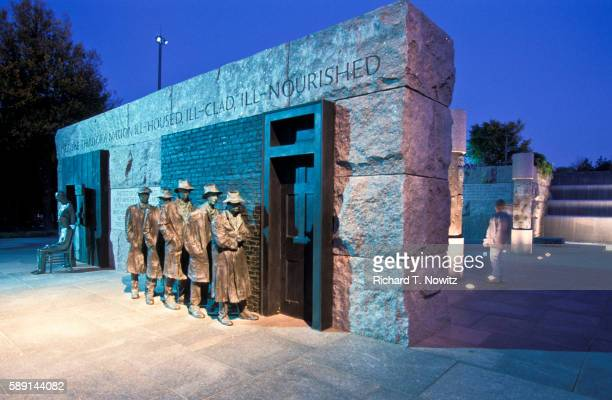 the depression breadline by george segal - depression bread line stock pictures, royalty-free photos & images