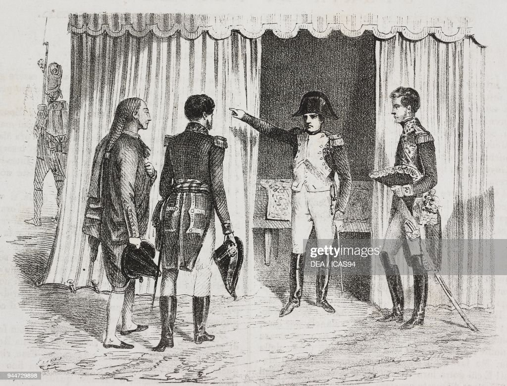 deputies of madrid in presence of bonaparte pictures getty images