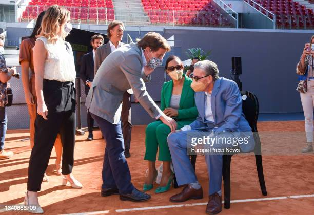 The Deputy Mayor of Madrid and member of the Cs Standing Committee, Begoña Villacis; the Delegate for Culture, Tourism and Sport, Andrea Levy; and...