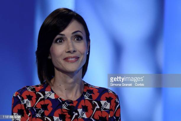 The Deputy President of the Chamber of Deputies Mara Carfagna attends the television program L'Aria che Tira, on June 25, 2019 in Rome, Italy. Next...