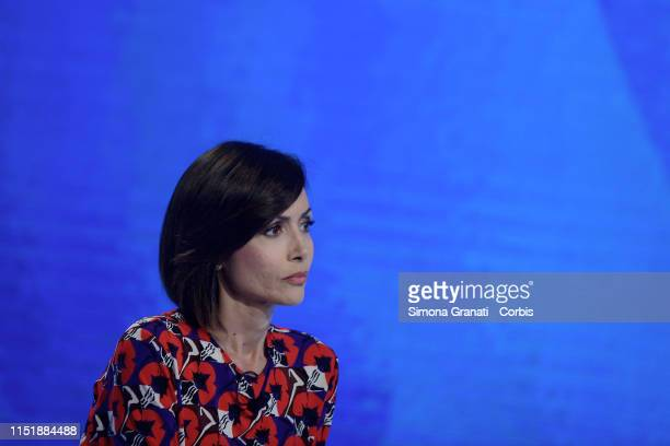 The Deputy President of the Chamber of Deputies Mara Carfagna attends the television program L'Aria che Tira on June 25 2019 in Rome Italy Next year...