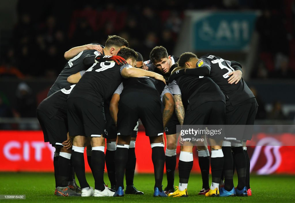Bristol City v Derby County - Sky Bet Championship : News Photo