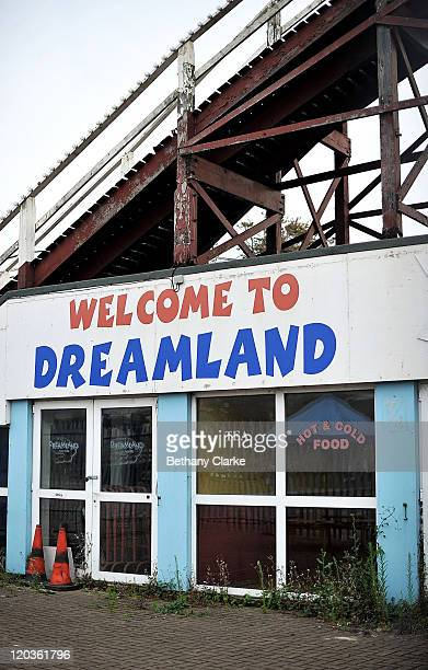 The derelict Dreamland theme park on August 2, 2011 in Margate, England. The east Kent seaside town of Margate is currently undergoing regeneration...