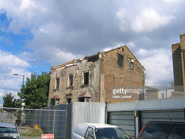 The derelict house with extensive tunnels underneath owned by the Mole Man of Hackney.