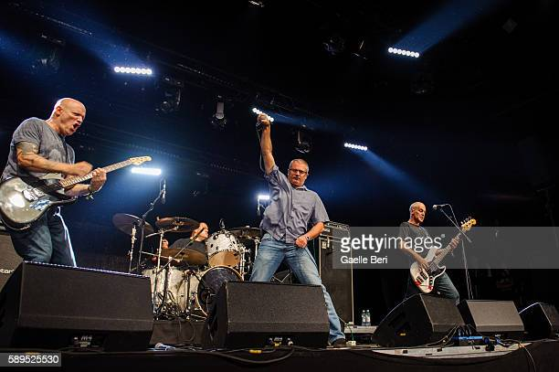 The Descendents perform live at Flow Festival on August 14 2016 in Helsinki Finland
