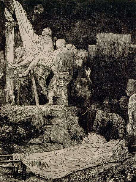 the descent from the cross by torchlight by rembrandt harmensz van