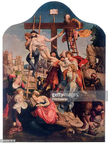 'The Descent from the Cross' c1520 Gossaert is usually seen as the founder of the Romanist art movement the first group of Flemish painters to be...