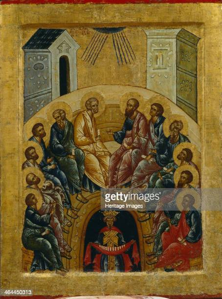 The Descent of the Holy Spirit 1497 Found in the collection of the State Openair Museum KirilloBelozersky Monastery