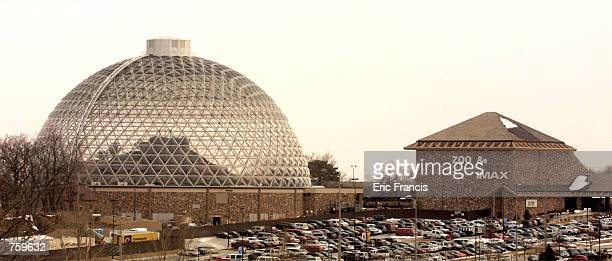The Desert Dome opens at the Henry Doorly Zoo March 27 2002 in Omaha NE The dome houses the world's largest indoor desert containing thousands of...