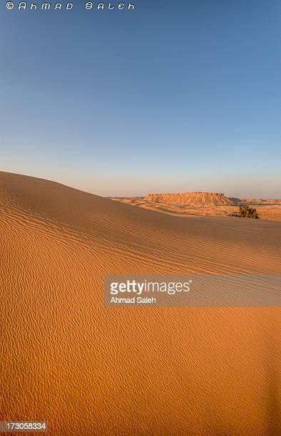 The desert in Saudi Arabia