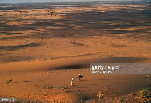 The desert near Meroe Sahara Desert Sudan