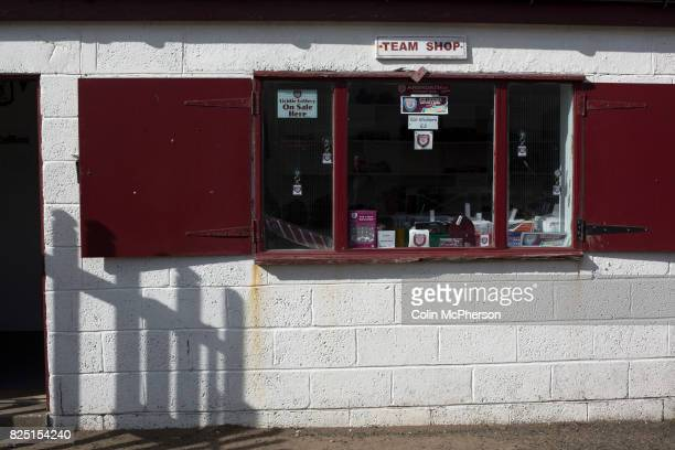 The deserted club shop at Gayfield Park as Arbroath hosted Edinburgh City in an SPFL League 2 fixture The newlypromoted side from the Capital were...