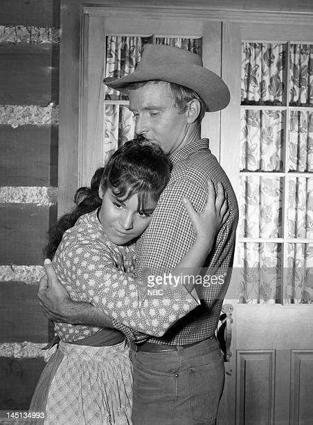 BONANZA The Deserter Episode 5 Pictured Gale Garnett as Maria Winters Robert Sampson as Bill Winters