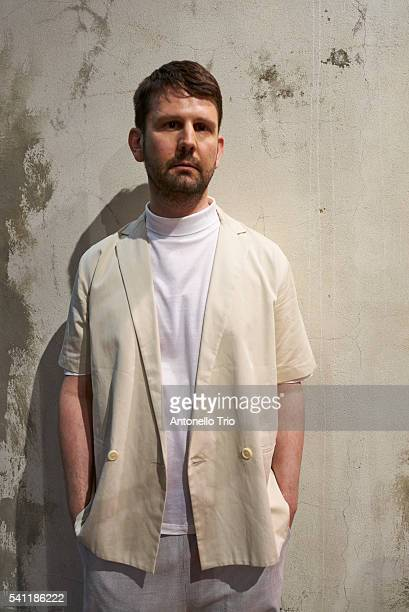 The Designer is seen ahead of the Lucio Vanotti fashion show during Pitti 90 on June 16 2016 in Florence Italy