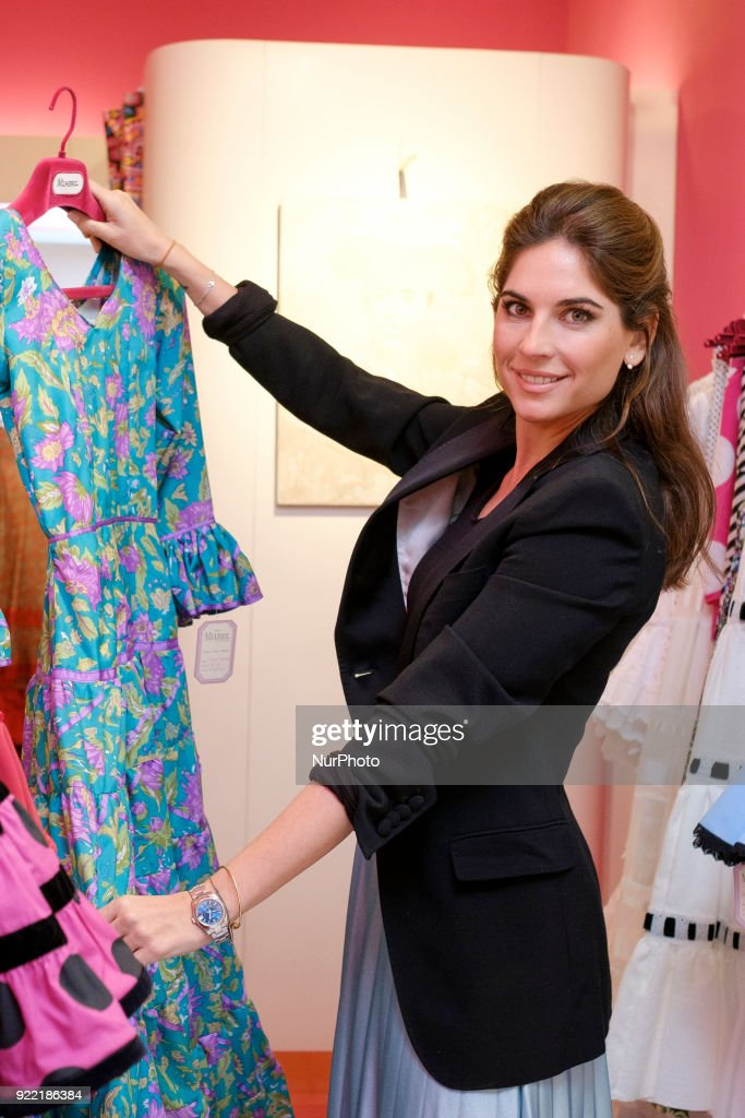 Lourdes Montes presents the collection of flamenco dresses : News Photo
