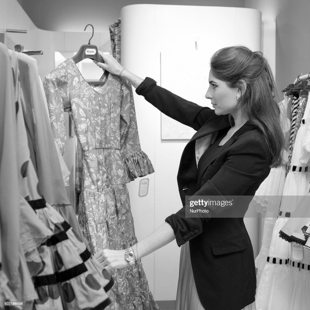 Lourdes Montes presents the collection of flamenco dresses : News Photo