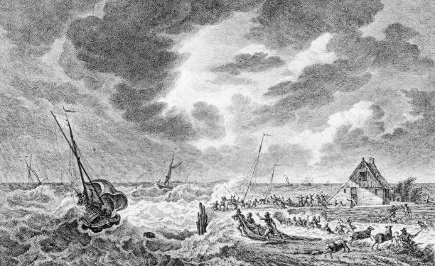 Storm At Sea Wall Art