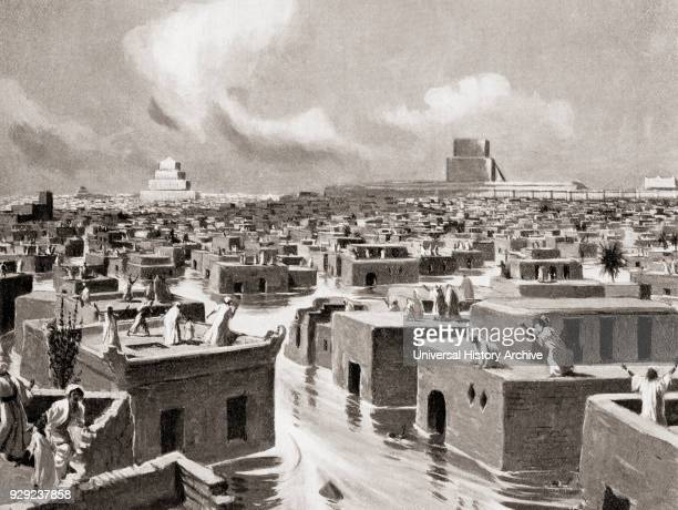 The destruction of Babylon by Sennacherib in 689 BC when he diverted the course of the Euphrates so that its waters flowed over the city and...