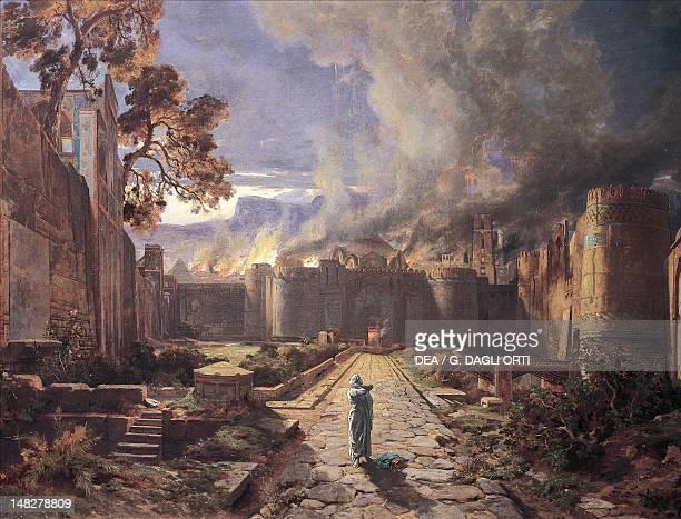 The destruction of Sodom and Gomorrah by JulesJosephAugustin Laurens Orleans Musée Des BeauxArts
