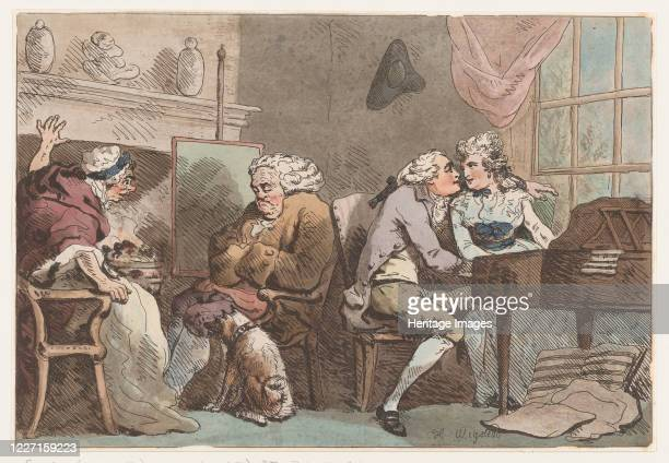 The Detection, June 15, 1796. Artist Thomas Rowlandson.